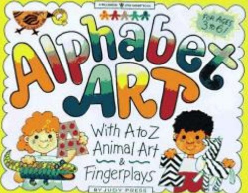 Alphabet Art: With A to Z Animal Art & Fingerplays [With Traceable Letters] 9781885593146