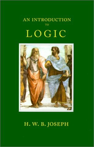An Introduction to Logic 9781889439174