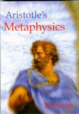 Aristotle's Metaphysics 9781888009033