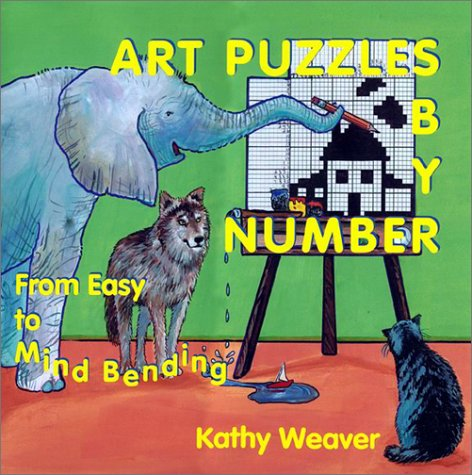 Art Puzzles by Number: From Easy to Mind Bending 9781888106572