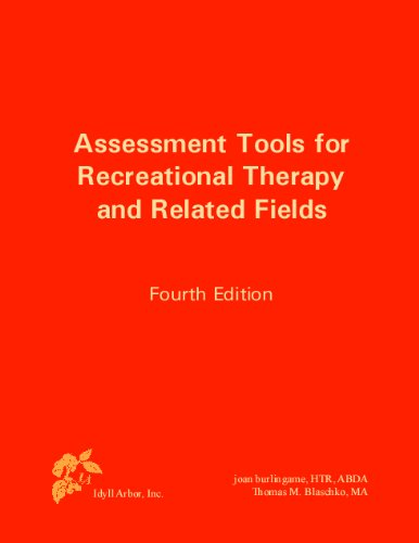 Assessment Tools for Recreational Therapy and Related Fields 9781882883721