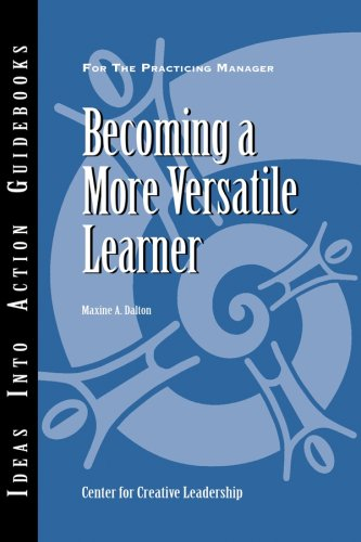 Becoming a More Versatile Learner 9781882197385