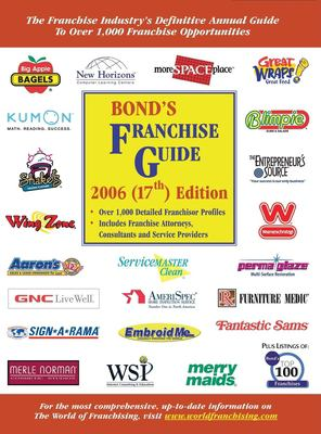 Bond's Franchise Guide 9781887137508