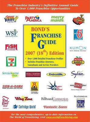 Bond's Franchise Guide 9781887137553