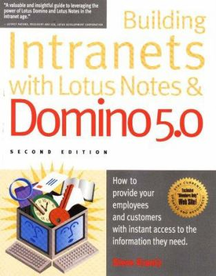 Building Intranets with Lotus Notes & Domino 5.0 9781885068248