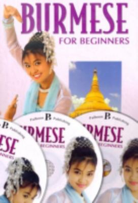 Burmese for Beginners [With 3 CDs] 9781887521536