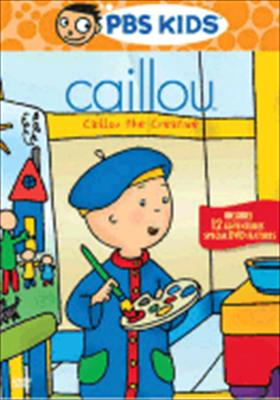 Caillou: Caillou the Creative 0841887052160