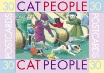 Cat People: 30 Postcards 9781883211301