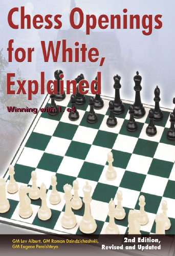Chess Openings for White, Explained: Winning with 1.e4 9781889323206