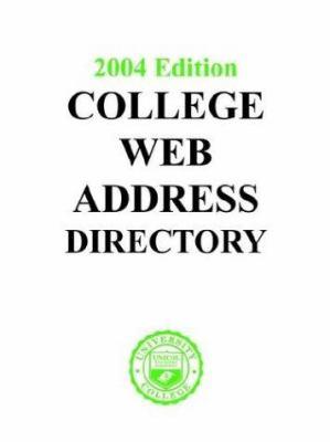 College Web Address Directory 9781880973332