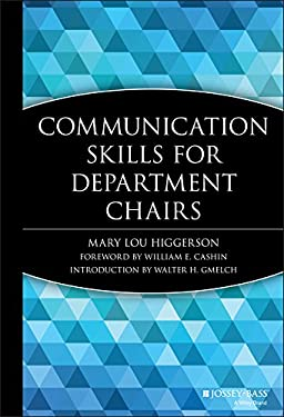 Communication Skills for Department Chairs 9781882982134