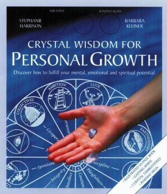 Crystal Wisdom Wheel for Personal Growth [With 2 Crystals, 1 Spiral Helix] 9781885203854