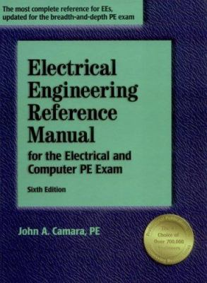 Electrical Engineering Reference Manual for the Electrical and Computer PE Exam 9781888577563