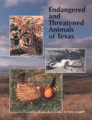 Endangered and Threatened Animals of Texas: Their Life History and Management 9781885696045