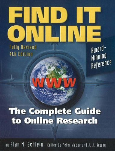 Find It Online: The Complete Guide to Online Research 9781889150451