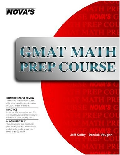 GMAT Math Prep Course 9781889057507