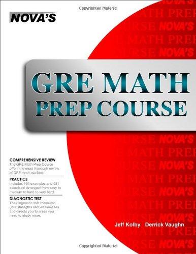 GRE Math Prep Course 9781889057590