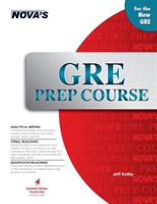 GRE Prep Course [With CDROM] 9781889057361