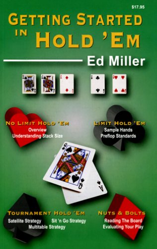 Getting Started in Hold 'em 9781880685341