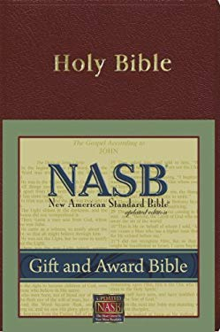 Gift and Award Bible-NASB 9781885217707