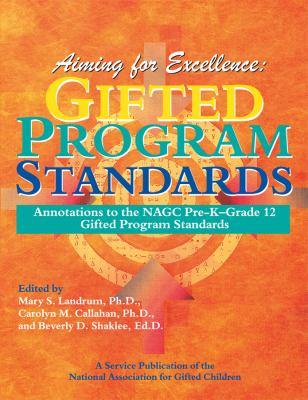 Gifted Program Standards 9781882664726