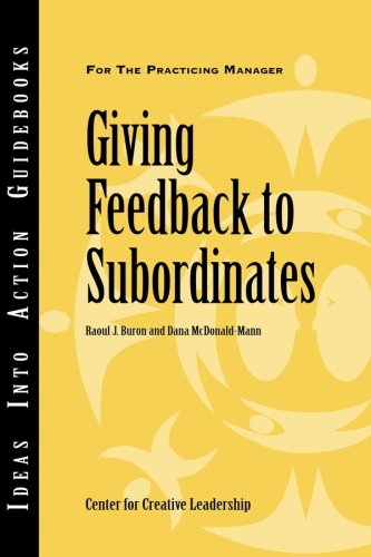 Giving Feedback to Subordinates 9781882197392