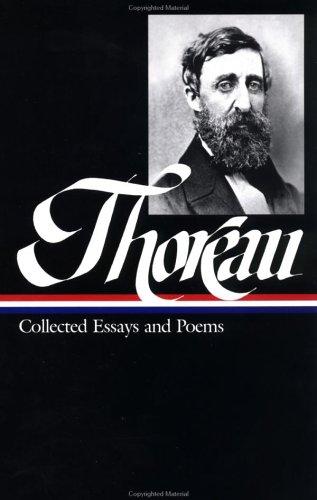 Henry David Thoreau: Collected Essays 9781883011956