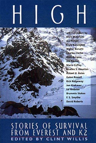 High: Stories of Survival from Everest and K2 9781885408358