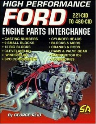 High Performance Ford Engine Parts Interchange 9781884089336