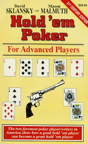 Hold'em Poker: For Advanced Players 9781880685228