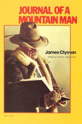 Journal of a Mountain Man 9781886609099