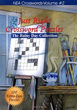 Just Right Crossword Puzzles: The Rainy Day Collection 9781884956621