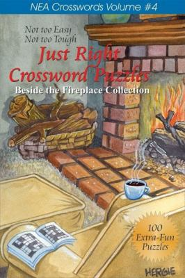 Just Right Crossword Puzzles: Beside the Fireplace Collection 9781884956645