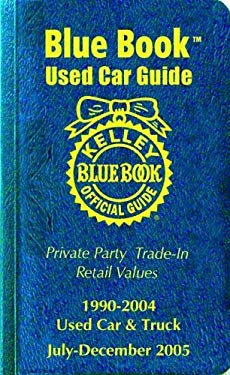 Kelley Blue Book Used Car Guide: July-December 9781883392543