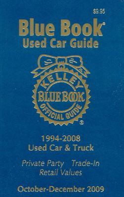Kelley Blue Book Used Car Guide: 1994-2008 Models 9781883392963