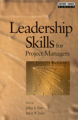 Leadership Skills for Project Managers 9781880410493