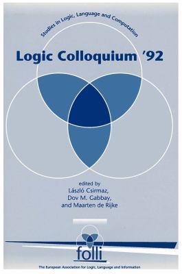 Logic Colloquium '92 9781881526988