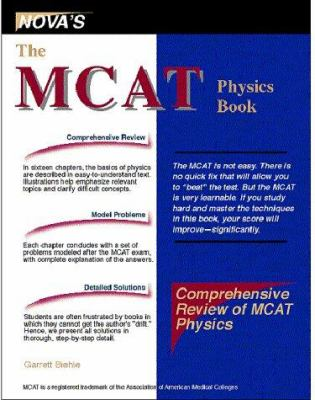 MCAT Physics Book: What You Need to Know to Boost Your MCAT Score 9781889057002