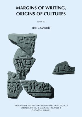 Margins of Writing, Origins of Culture 9781885923394