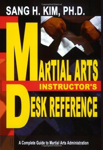 Martial Arts Instructors Desk Reference 9781880336717