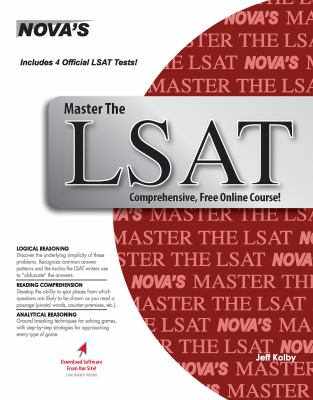 Master the LSAT [With CDROM] 9781889057316