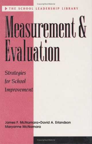 Measurement and Evaluation 9781883001780