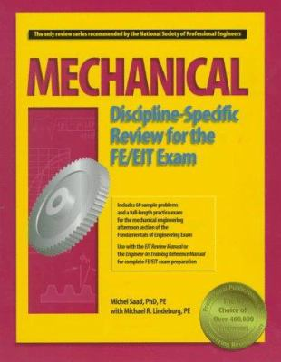 Mechanical Discipline-Specific Review for the FE/EIT Exam 9781888577198