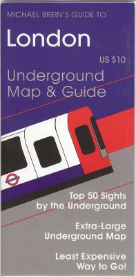 Michael Breins Guide to London Underground Map & Guide 9781886590410