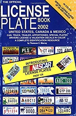 Official License Plate Book