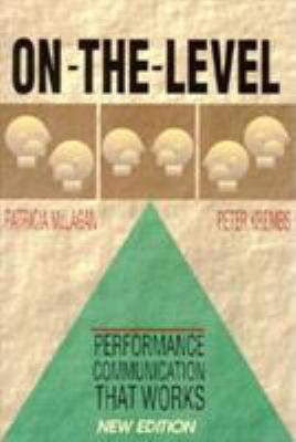 On the Level: Performance Communication That Works 9781881052760