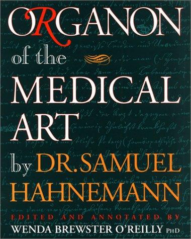 Organon of the Medical Art 9781889613000