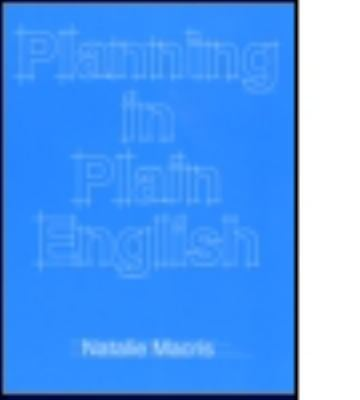 Planning in Plain English: Writing Tips for Urban and Environmental Planners 9781884829406