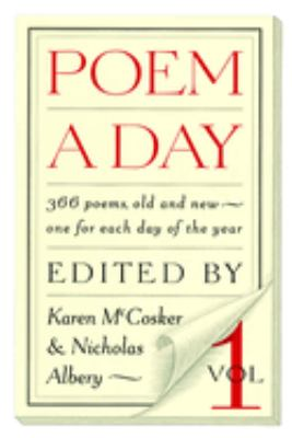 Poem a Day: Volume One 9781883642389