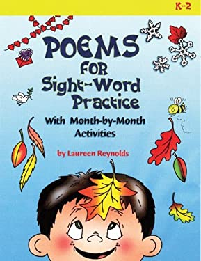 Poems for Sight-Word Practice: With Month-By-Month Activities 9781884548697